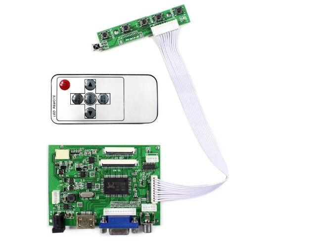 Kit Yqwsyxl para pantalla LCD de 7 pulgadas y 8 pulgadas AT070TNA2 ZJ080NA-08A pantalla LCD de 1024x600