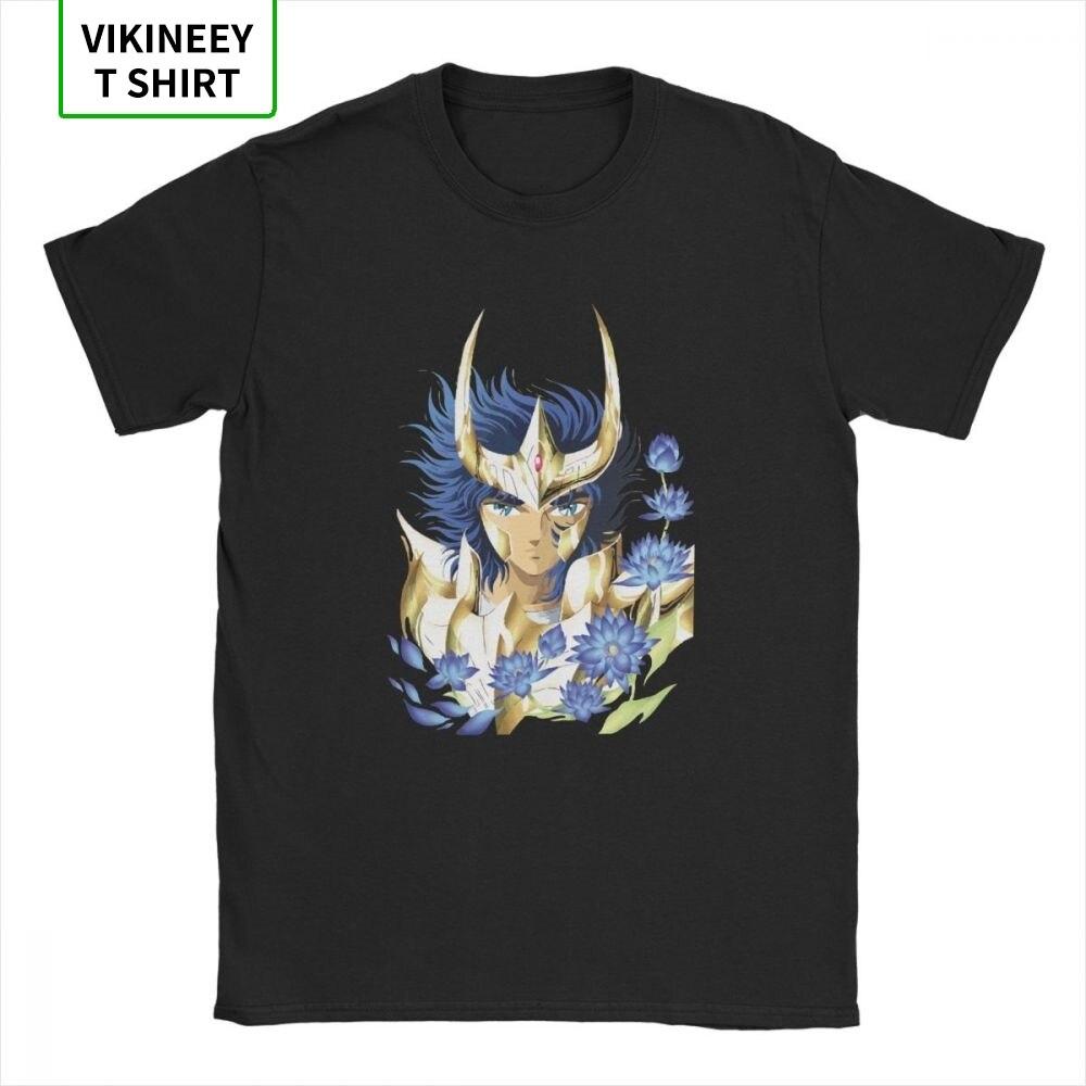 Camiseta Saint Seiya Ikki para caballeros del zodiaco 90s Anime 2019, Camiseta de algodón de moda, camiseta de manga corta, Idea de regalo