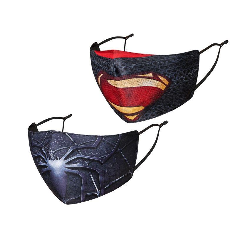Супермен железный человек Дэдпул Каратель Халк маска унисекс косплей для взрослых пылезащитный костюм аксессуары пылезащитные маски для лица