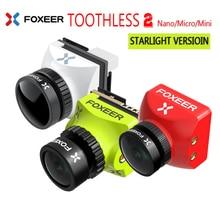Foxeer Mini/Micro/Nano Беззубик 2 CMOS 1/2 1200TVL PAL/NTSC 43 169 FPV OSD камера естественное изображение для RC FPV Racing Drone