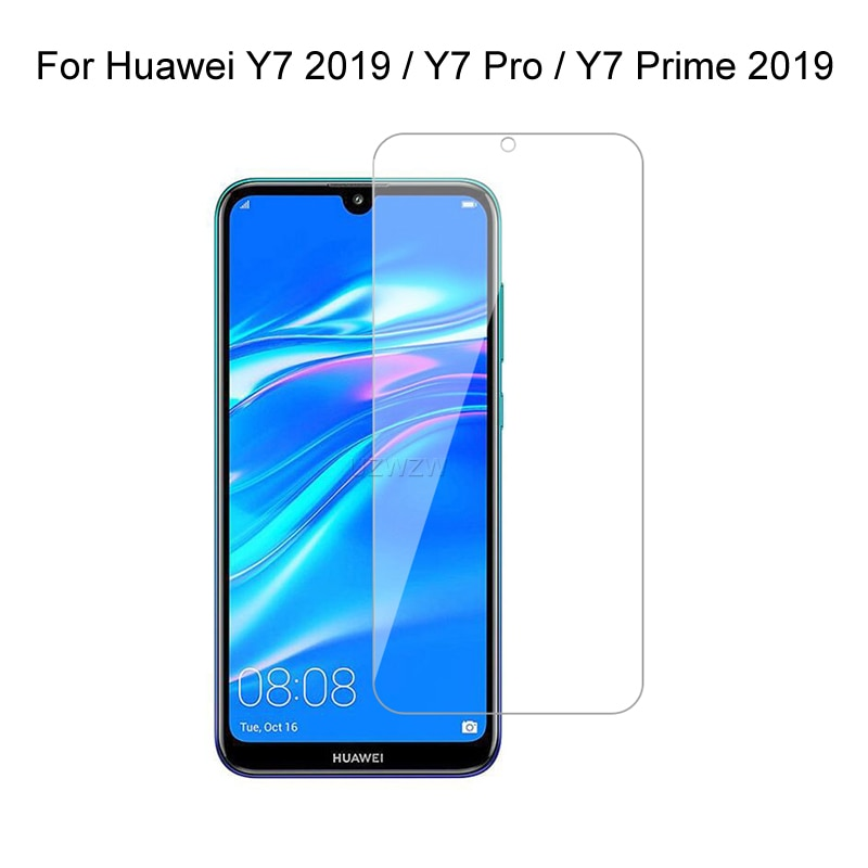 For Huawei Y7 2019 Y7 Prime Pro 2019 Tempered Glass Screen Protector Protective Glass For Huawei Y7 Pro Prime 2019 Glass