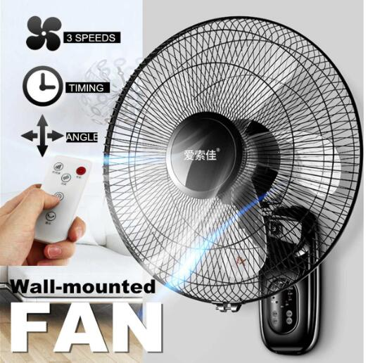 digoo dg f1101 touch screen spray fan remote control speed adjustable ultrafine spray multifunction home fan home appliance Wall fan wall-mounted electric fan home restaurant shaking head mute remote control 16 inch industrial wall-mounted fan