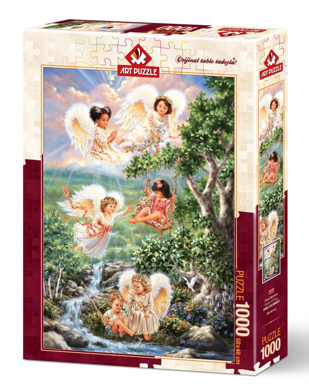 Художественный Пазл «Надеюсь Ангелы», пазл-головоломка из 1000 деталей