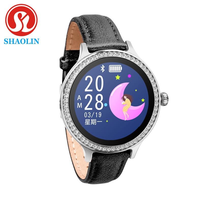 Female Smart Watch IP68 Waterproof Woman Smartwatch Menstrual Reminder Heart Rate Monitor Blood Pres