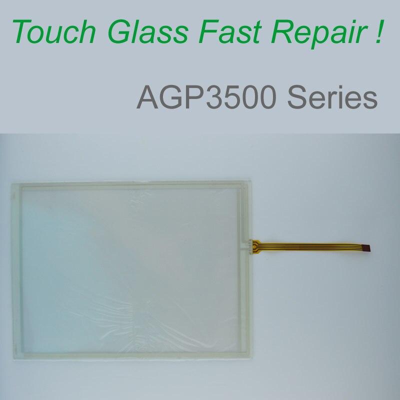 AGP3500-L1-D24 AGP3501-S1-D24 AGP3501-T1-D24 -AF اللمس زجاج الشاشة ل HMI لوحة إصلاح ~ تفعل ذلك بنفسك ، دينا في المخزون