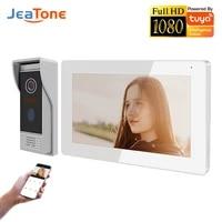 %e3%80%90tuya 1080p%e3%80%91wifi smart video doorphone video intercom system apartment villa ahd 720p fhd 1080p video doorbell full touch screen