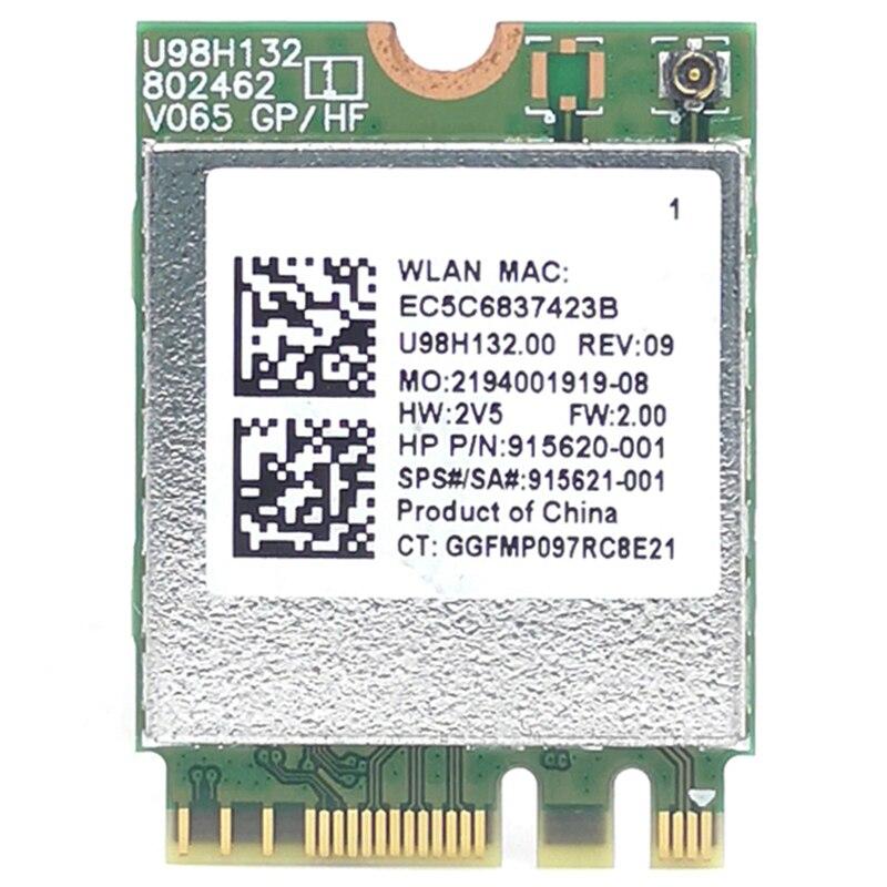 RTL8821CE 802.11AC 1X1 Wi-Fi + BT 4,2 tarjeta adaptadora combinada SPS 915621-001 tarjeta de red inalámbrica para Hp ProBook 450 G5 serie PB430G5