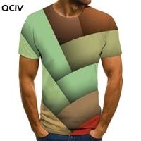 qciv brand geometry t shirt men colorful anime clothes graphics t shirts 3d creativity tshirt printed mens clothing summer new