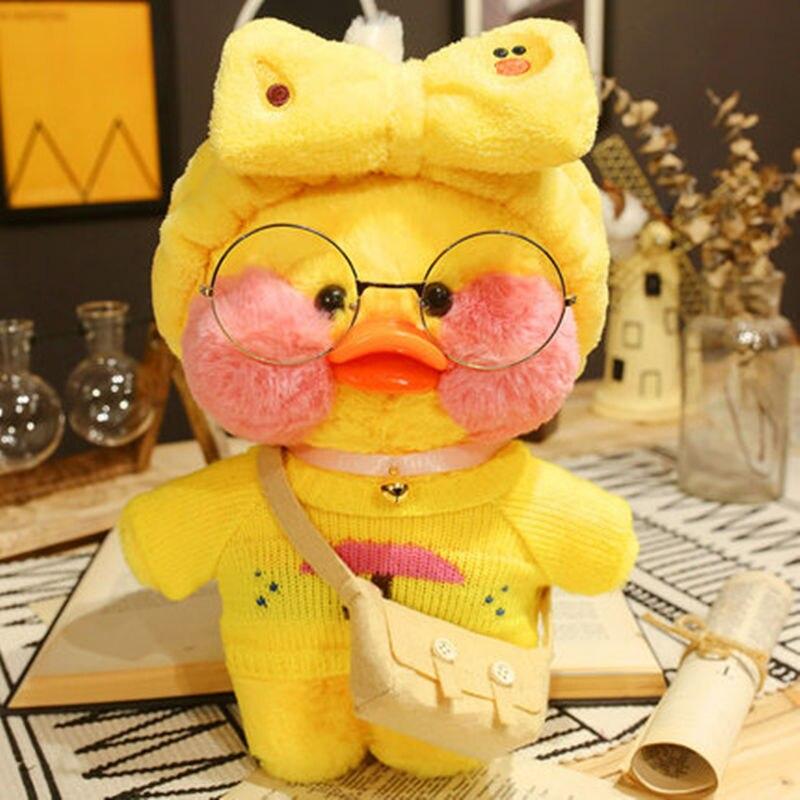 Утки плюшевые мягкие игрушки утки кукла плюшевые игрушки Корейская утка в гиалуроновой кислоте маленькая Желтая утка кукла утки