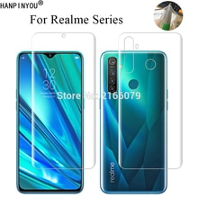 For OPPO Realme 5 6 X2 Pro XT 5s 5i 6i Narzo 10 10A Q Clear TPU / Matte Frosted Hydrogel Full Cover