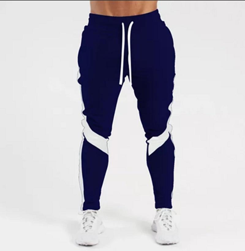 2021 Новый Для Мужчин's Jogger бренд Для мужчин брюки больших размеров Повседневное брюки Спортивные штаны Фитнес тренировочные брюки S-3XL