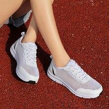 Tenis Feminino femmes Tennis chaussures 2020 Tenis Blancos baskets femme chaussures de Sport Fitness formateurs marche chaussures de Sport taille 35-41