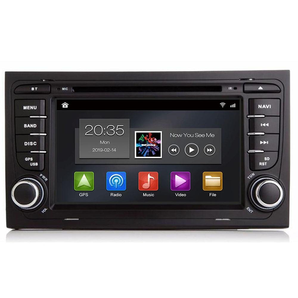 Para Audi A4, S4, RS4, 8E, 8F, B9, B7, B6, 4G, 64G, 8 core, Android 10, 2 Din, reproductor multimedia de dvd para coche, estéreo, GPS, wifi, obd2, DSP, DVR