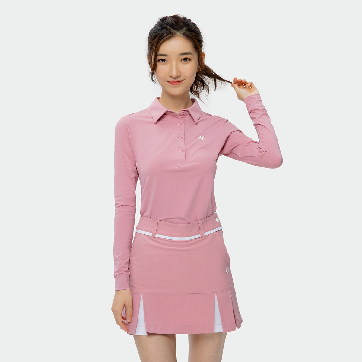 2021  NETLS Golf Elasticity Fabric Autumn Ladies Golf Wear Suits, Long Sleeves and Short Skirt Suits, Golf Clothing for Women