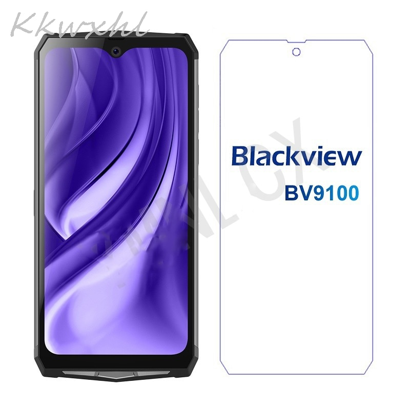 Smartphone 9H Tempered Glass for Blackview BV9100 GLASS Protective Film on Blackview BV9100 Screen Protector case cover