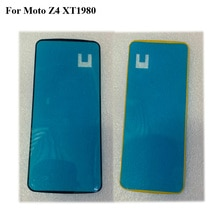 5 uds cinta adhesiva para MOTO Z4 XT1980 3M pegamento frontal LCD soporte marco pegatina para MOTO Z 4 play XT1980 XT 1980