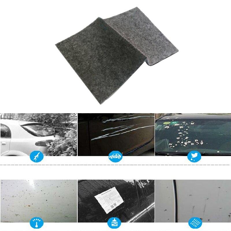 La pintura del coche tesoro reparador para arañazos artefacto nano de reparación de pinturas para tela de asfalto desgomado agente limpiador de reparación