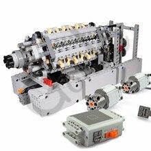 Nouveaux blocs de construction de moteur de cylindre de moteur V42 ont assemblé des pièces en vrac avec des moteurs de fonction de puissance compatibles avec la voiture technique de logos