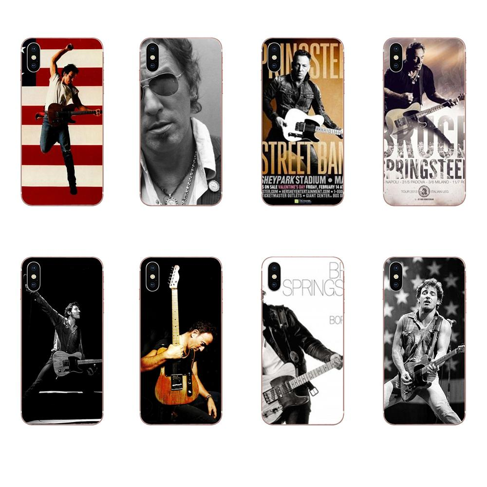 Sänger Bruce Springsteen Auf Verkauf Telefon Fall Für Apple iPhone 11 Pro X XS Max XR 4 4S 5 5C 5S SE SE2 6 6S 7 8 Plus