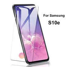 Закаленное стекло для Samsung Galaxy S10e, черное защитное стекло с полным покрытием для Samsung s 10 e S 10e S10E, мягкая Гидрогелевая Передняя пленка