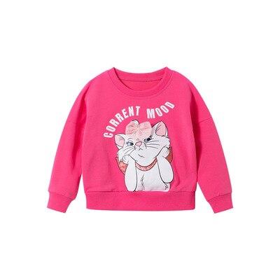 Повседневные толстовки с капюшоном и изображением кота Мари из мультфильма Disney, детская одежда, зимние подарки для девочек с длинным рукавом|Толстовки и кофты| | АлиЭкспресс