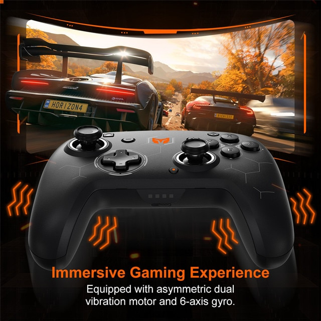 BIGBIG WON Elitist S Wireless Gamepad Controller Joystick for Nintendo Switch PC Android Game Console with 6-Axis Gyro Handle 6