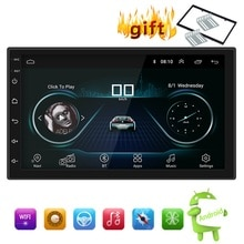 Android 8.1-autoradio stéréo GPS Navigation   Bluetooth, wifi universel, 7 2din autoradio, Quad Core, lecteur multimédia