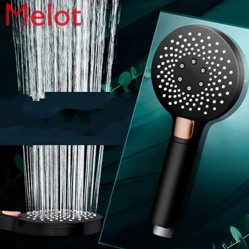 Shower Head Nozzle Supercharged Handheld Super Rain Suit Household Single Head Shower Head Bathroom Accessories enlarge