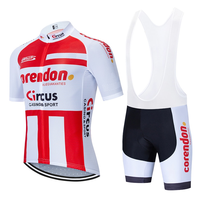 2020 Suiza Corendon MTB Ciclismo jersey 20D bicicleta pantalones cortos traje Ropa Ciclismo hombre de secado rápido PRO bicicleta Maillot bottoms wear