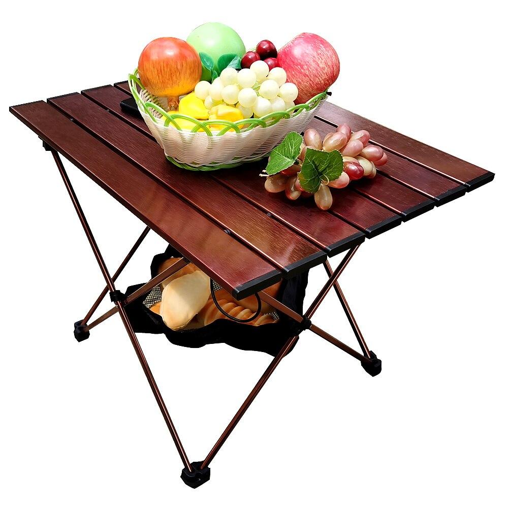 Стол коричневый стол 7075 стол из алюминиевого сплава стол открытый стол уличная мебель портативный складной стол