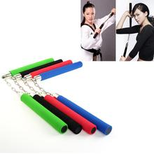 1Pcs 2020 4 Colors Optional Fitness Foam Padded Kung Fu Nunchuck Martial Arts Products For Kids And