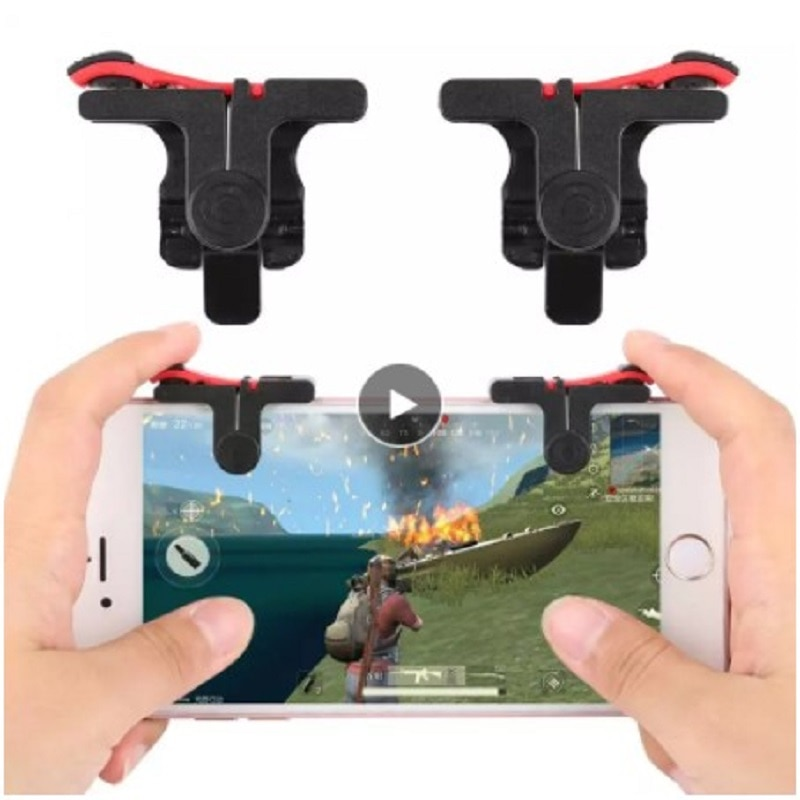 Gaming Trigger Cell Phone Game PUBG Mobile Gamepad Fire Button Aim Key Shooter Controller Accessorie