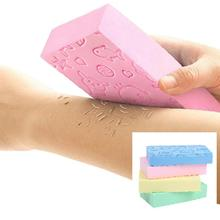 Bath Sponge Exfoliating/Dead Skin Removing Sponge Body Massage Bath Tool Silicone Body Scrubber