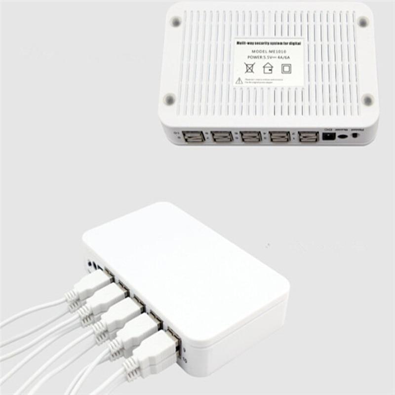 (3 Set/Lot) Remote Control 10-Port Controller Retail Stop Laptop Keyboard Speaker Demo Alarm Sensor Sticker Secure System enlarge