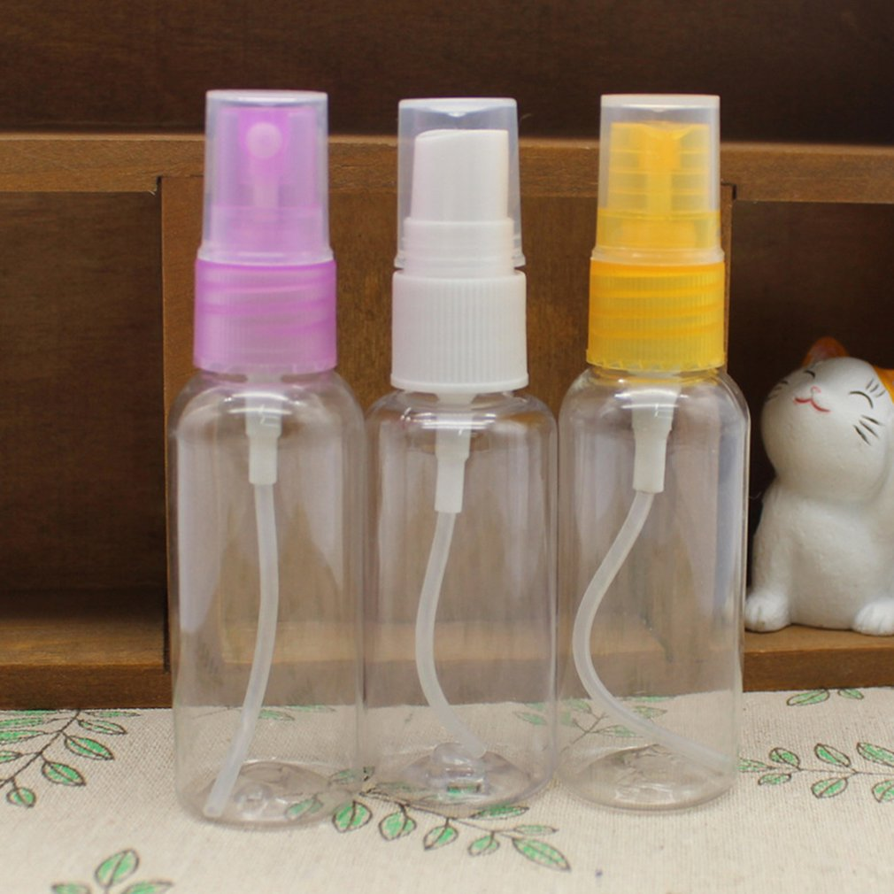 Botella de Spray de agua de tamaño pequeño, botellas de Spray médico, pulverizador directo, atomizador de plástico, botella de Spray cosmético