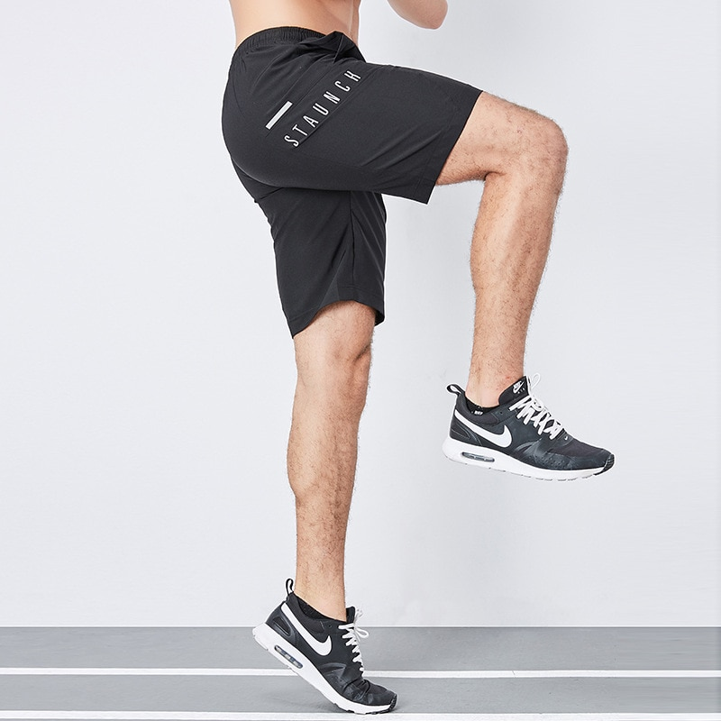 Summer Running Shorts Men Quick-dry Gym Training Shorts Men Workout Athletic Jogger Pants with Pocke