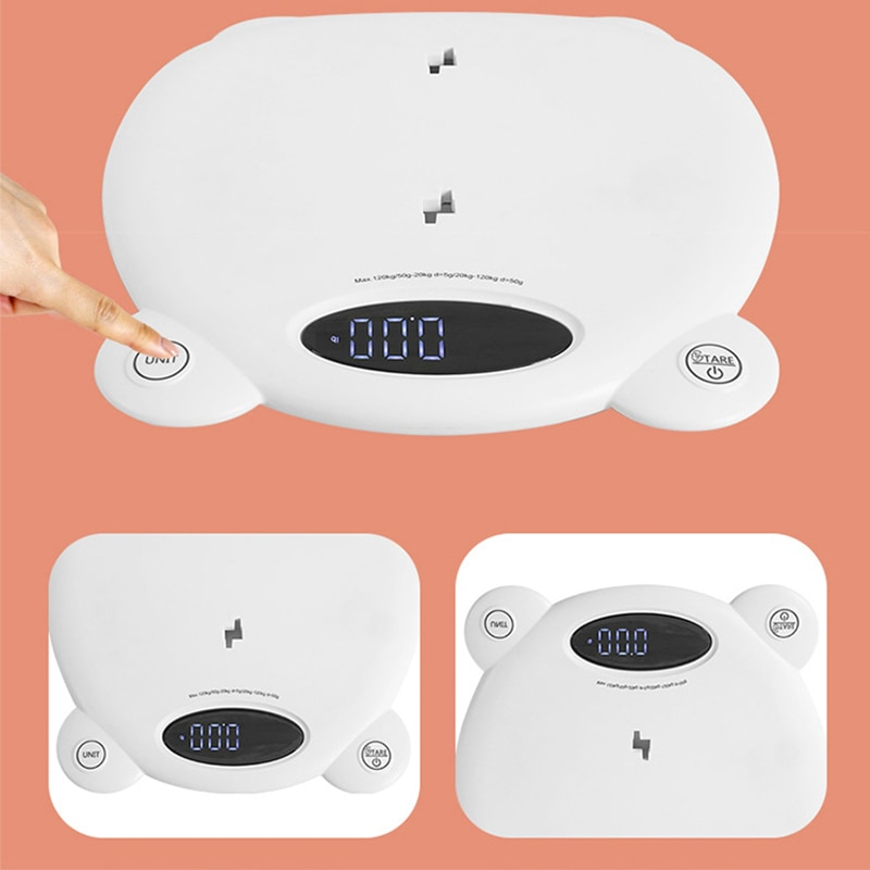 Adult Digital Scale Precision Animal Scale Gram Electronic Pet NewBorn Weighing Tools LCD Baby Scale Infant Electronic Balance