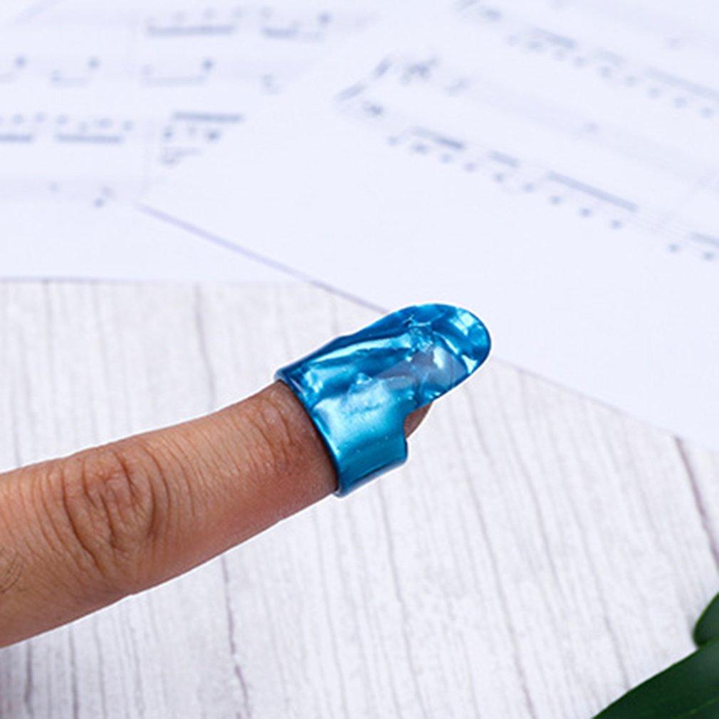 Thumb Finger Guitar Pick Fingerpicks Plectrum Sheath Guitar Tube Picks Thumb Picks Electric Guitar Accessories Random Color