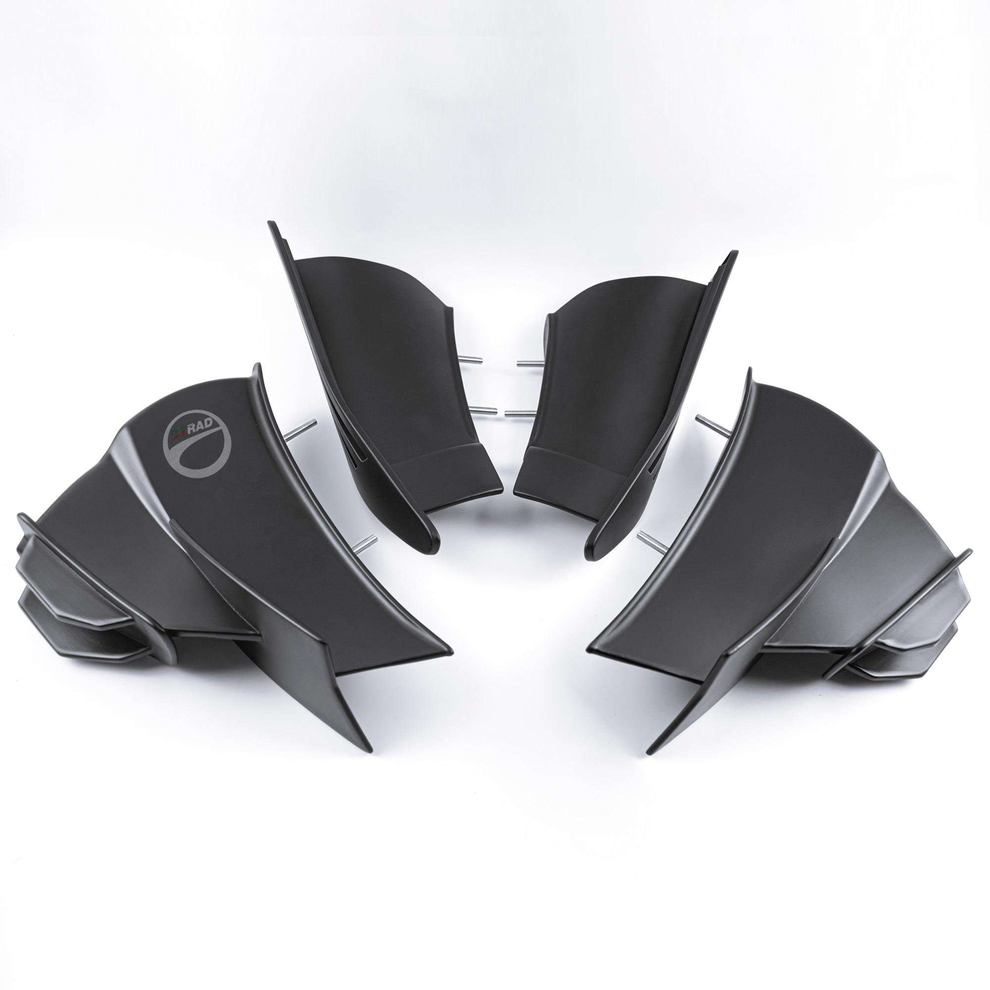 2021 جديد وينجليس عاكس الهواء صالح ABS ل DUCATI Panigale V4 2019-2021 الأصلي 1:1