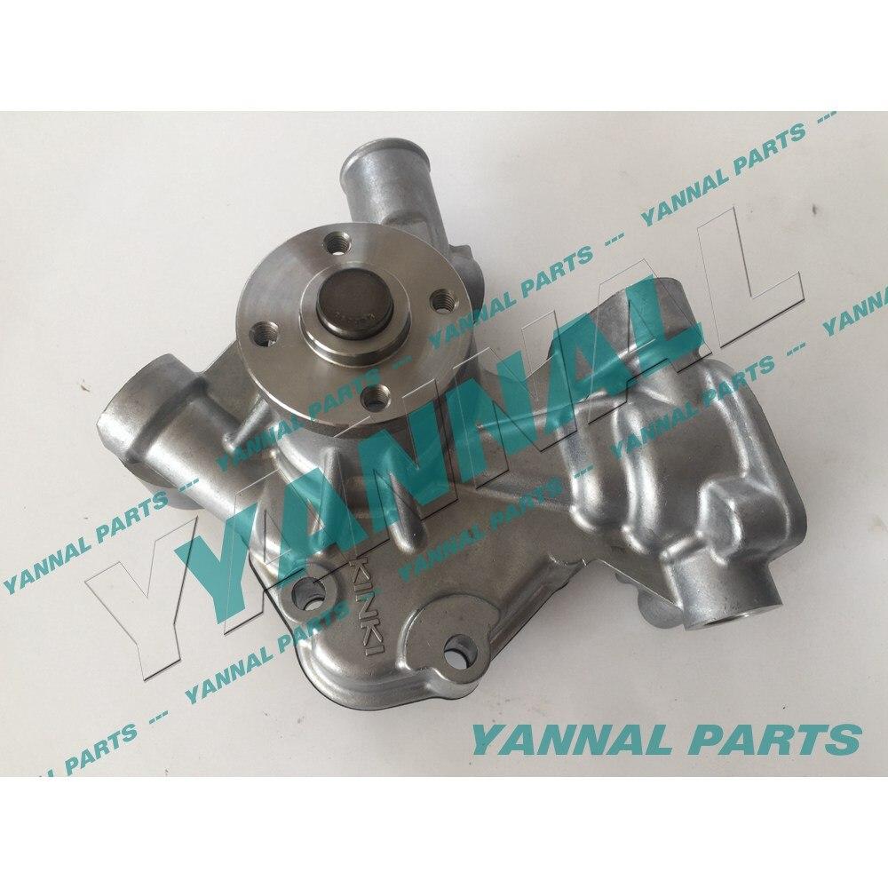 Bomba de agua para motor de repuesto YANMAR 3TNE68 3TNV72-J 3D72 119233-42000