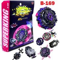 SuperKing Burst B-169 вариант Lucifer. Пусковая установка Mb 2D Spark, волчок Juguetes, металлический гироскоп Fusion, игрушки для детей, мальчиков