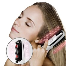 Traitement de soin de croissance de cheveux peigne de Massage de Laser équipement multifonctionnel de Massage de tête traitement Anti-perte de cheveux de Laser de croissance de peigne
