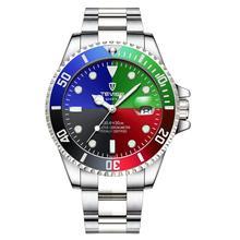 TEVISE Luxury Week Day Date Watch Men 2020 Waterproof Fashion Quartz Stainless Steel Wrist Watches f