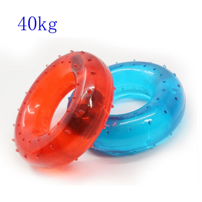 Hand Grip Strength Muscle Grip Training Fitness Finger Exerciser Ring Power Expander Gripper Rehabilitation Equipment 40KG high grade finger grip ball rehabilitation training equipment middle aged and young people partial stroke exercise finger grip