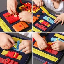 Baby Basic Life Skills Teaching Activity Board Learn Learning To Skill Educational Toys Training Pre