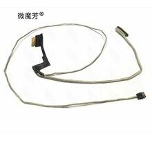 """شاشة خط كابل الشاشة 15.6 """"DC02001WZ00 DC02001WZ10 LED LCD LVDS كابل الفيديو لينوفو التوقف Y520 R720-15IKB R720-15IKBN"""