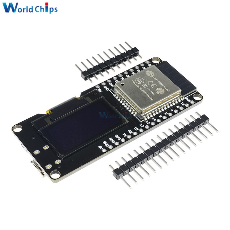 Aliexpress - Wemos Lolin32 (ESP32 with OLED Display)