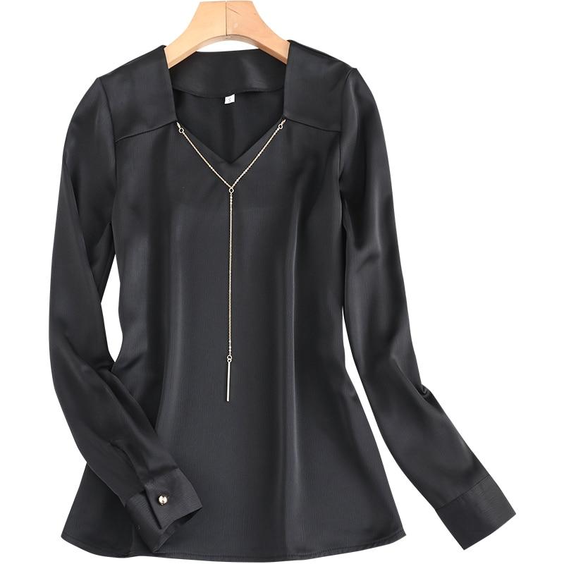 Женская рубашка, Дизайнерская верхняя одежда, базовый топ в западном стиле, в гонконгском ретро-стиле, с длинным рукавом, в Корейском стиле