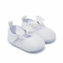 Summer Sandals 2021 Brand New Toddler Baby Girls Bowknot Mesh Shoes Soft Sole Crib Shoes Spring Autu