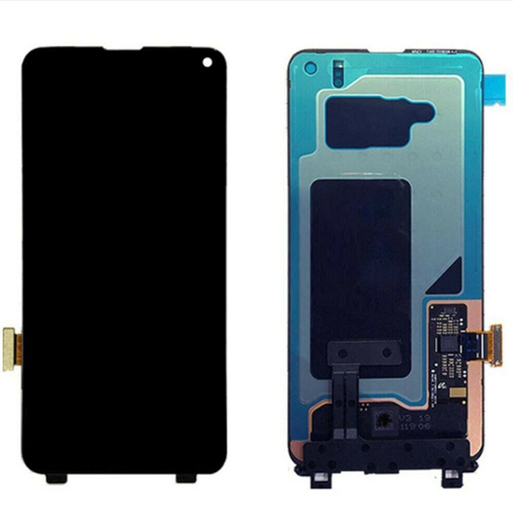 100% original super amoled lcd para samsung s10 SM-G9730 g973f display lcd tela de toque digitalizar pixels mortos